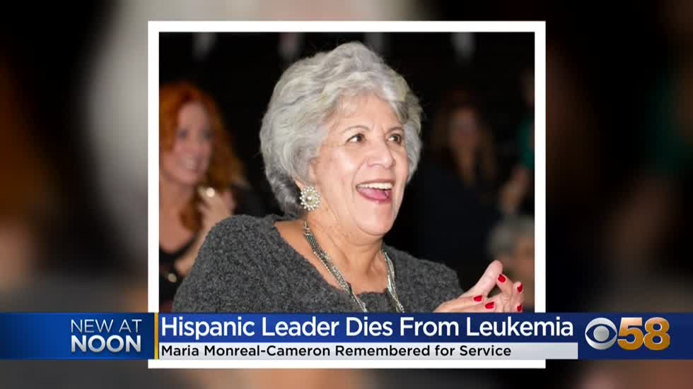 Maria Monreal-Cameron, Milwaukee Hispanic leader and philanthropist,...